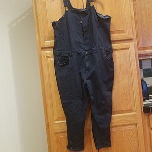Size 22w....cute, straight leg overalls
